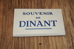 BELGIE  BELGIQUE, DINANT, 10 VUES / LEPORELLO / CA. 6 X 9 CM. - Dinant