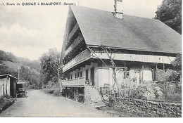 P/c1     73    Queige     Route De Beaufort - Autres Communes
