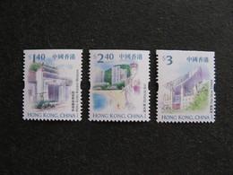 HONG-KONG : TB Série De Timbres De Carnets, Dentelés Sur 3 Cotés, N° 1004F, 1004Ca Et 1004Da, Neufs XX. - Nuevos