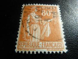 TYPE PAIX - 80c. - Orange - Oblitéré - Année 1937 - - 1932-39 Vrede
