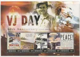 N 741) Mikronesien 2005 Block **: 60 Jahre VJ Day (Sieg USA Japan) Atombombe - Micronesia