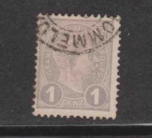 Gd DUCHE DE LUXEMBOURS  (Y&T) 1895 - N°69  * Le Grand Duc Adolphe 1er De Profil*    1c. Obli () - 1895 Adolphe Profil