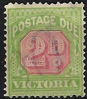 AUSTRALIE Victoria Taxe 1894: Le Y&T 13  Obl. - Nuevos