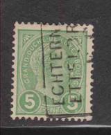 Gd DUCHE DE LUXEMBOURS  (Y&T) 1895 - N°72  * Le Grand Duc Adolphe 1er De Profil*    5c. Obli () - 1895 Adolphe Profil