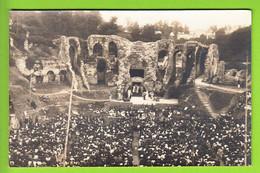 SAINTES : Carte Photo, Représentation D'Héraclès Le 12 Août 1923 Aux Arènes. 2 Scans. - Saintes