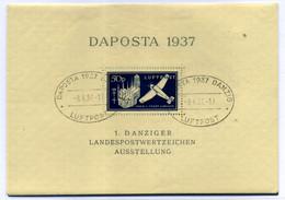 Danzing (HB) Nº 2. Año 1937 - Blocs & Hojas