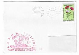 38 JDA - FASM GEORGES LEYGUES - GEAOM 2001 - 2002 (Escale  De TUNISIE) - Naval Post