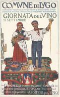 Cartolina - Postcard /  Non  Viaggiata - Unsent /  Giornata Del Vino - Città Di Lugo. - Pubblicitari