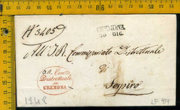 Piego Con Testo Cremona Per Sospiro - 1. ...-1850 Prephilately