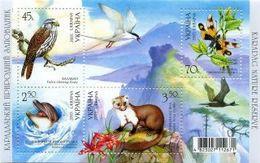 UKRAINA 2005 MI.727-30** - Dolphins