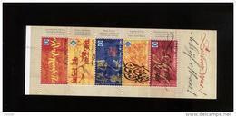 Belgie Boekje Carnet 2011 B126 Kalligrafie Latin Arab Chinese Hindi Greek Calligraphy - Ungebraucht