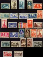 France Années Complètes N° 1939  N° 419 à 450, 32 Valeurs** - ....-1939