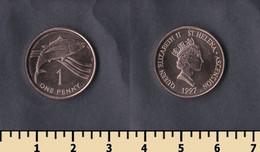 St. Helena And Ascension 1 Penny 1997 - Saint Helena Island