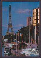 75  PARIS 15e  Port Du Quai De Grenelle Illuminé  Vers 1980 - Arrondissement: 15