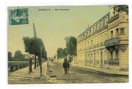 CPA 60 CHANTILLY RUE D'AUMALE - Chantilly