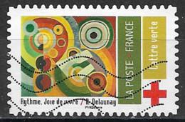 France 2020  Oblitéré  Autoadhésif  N° 1867  -  Croix Rouge - Adhesive Stamps