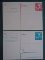 Bund Ganzsache PSo 1 Und PSo 2 Ungelaufen (557) - Postales - Usados