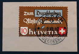 """Mi Nr 405 - Vollstempel """"DICKEN - B. DEGERSHEIM"""" - Kanton Sankt-Gallen  (ref. FR-029) - Zonder Classificatie"""