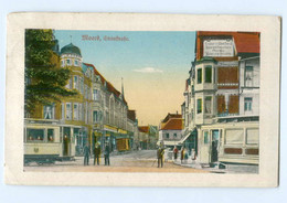 Y8392/ Moers Steinstraße Straßenbahn AK 1924 - Unclassified