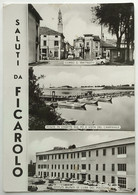 Saluti Da FICAROLO (ROVIGO) - Vedutine - Rovigo