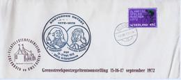 Nederland Speciale Brief Coevorden Ontzet Veldpost Stempel  12-IX-1972 (711) - Briefe U. Dokumente
