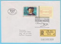 J.P.S. 31 - Autriche - Compositeur - Oblitération - N° 82 - Wagner - Muziek