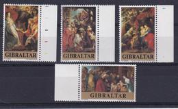 Gibraltar: 1977   Christmas And Rubens' 400th Birth Anniv    MNH - Gibraltar