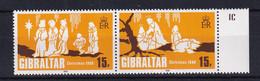 Gibraltar: 1980   Christmas    MNH - Gibraltar
