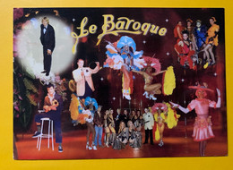 13316 -  Carte Invitation Cabaret La Baroque  Saint Laurent Du Var Circulée 18.08.1998 - Kabarett