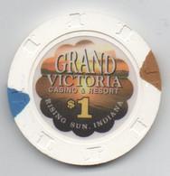 Grand Victoria Casino & Resort : Rising Sun IN : $1 - Casino