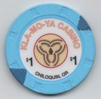 Kla-Mo-Ya Casino : Chiloquin OR : $1 - Casino