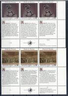 Nations Unies Genève 1992 - Y & T N. 235/40 - Droits De L'Homme (IV) (Michel N. 223/24) - Unused Stamps