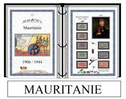 Albums De Timbres à Imprimer   MAURITANIE 1906 / 1944 - Non Classés
