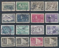 Finlande - Lot De 16 Timbres (o) - Collections