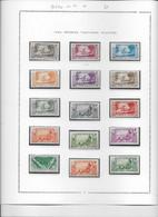 Océanie N°84/120 - Neufs **/* Sans/avec Charnière - Collection Vendue Page Par Page - TB - Unused Stamps