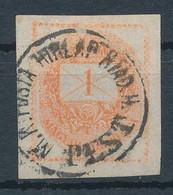 1871. Newspaper Stamp, PEST - Kranten