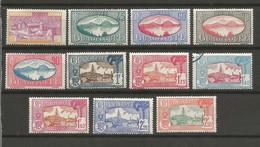 Timbre De Colonies Française Guadeloupe Neuf * Et 1 Oblitéré N 147 / 157 - Unused Stamps