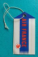 Etiquette Vintage Bagage AIR FRANCE Aviation 1956 - Baggage Etiketten