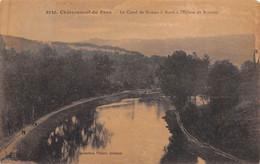 CHATEAUNEUF DU FAOU     CANAL DE NANTES A BREST - Châteauneuf-du-Faou