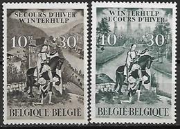 Belgie 1944 Winterhulp Yv. 639-640 MNH ** Postfris - Unused Stamps
