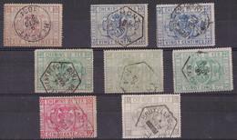 Belgique: TR 1, TR2,TR2a, TR3, TR3a, TR3b, TR4a Et TR6 Oblitérés - Gebraucht