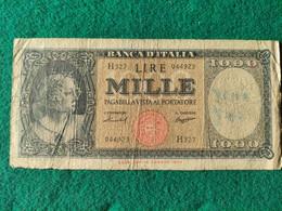 Italia  1000 Lire 1959 - 1000 Liras