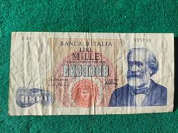 Italia  1000 Lire 1966 - 1000 Liras
