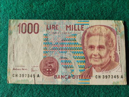 Italia  1000 Lire 1990 - 1000 Liras