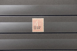 FRANCE - Type Semeuse N° 224 - Variété Surchargé Décalée - Neuf - L 89058 - Variétés: 1921-30 Neufs