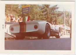AUTO CAR VOITURE GARA CESANA SESTRIERE 1968 -  FOTO ORIGINALE - Coches