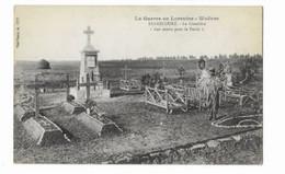 """La Guerre En Lorraine - Woëvre - BERNECOURT - Le Cimetière - """" Aux Morts Pour La Patrie """" - - Otros Municipios"""