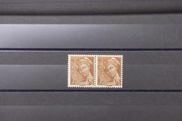 """FRANCE - Type Mercure N° 416A - Variété Couleur """" Chocolat """" En Paire - Neufs - L 89068 - Variétés: 1931-40 Neufs"""