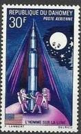 Dahomey, 1970, Space, Moon Landing, Lunar, MNH, Michel 407 - Benin – Dahomey (1960-...)