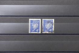 FRANCE - Type Pétain N° 521A - Variété - 1 Exemplaire Moustache En Bleu + 1 Normal - Oblitérés - L 89076 - Variétés: 1941-44 Oblitérés